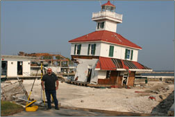 About Us - Hurricane Katrina cleanup